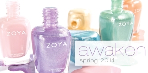 Zoya Awaken Spring 2014 Collection Nail Polish